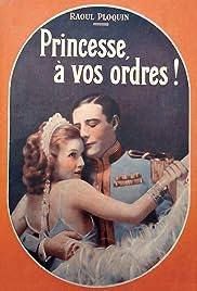 Princesse, à vos ordres! Poster