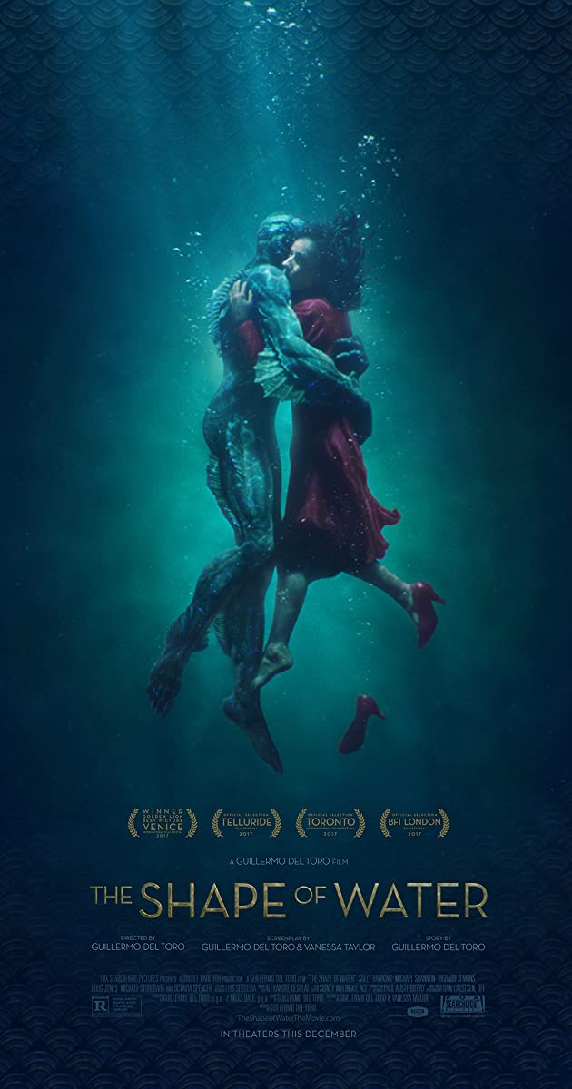 Image result for the shape of water poster imdb