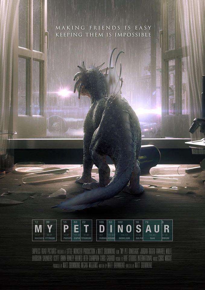 Mano augintinis dinozauras / My Pet Dinosaur (2017) žiūrėti online