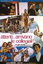 Attenti... arrivano le collegiali! Poster