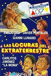 Las locuras del extraterrestre Poster