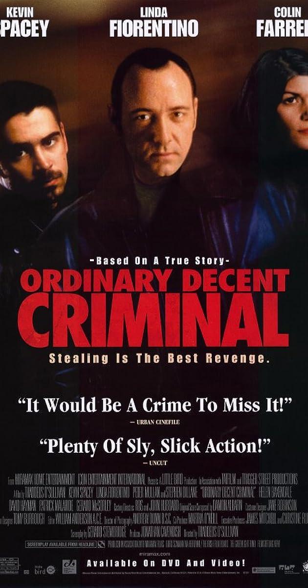 Paprastas nusikaltėlis / Ordinary Decent Criminal (2000) Online
