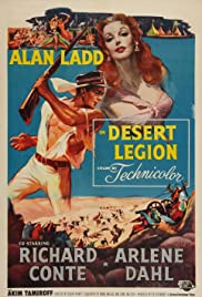 Desert Legion(1953) Poster - Movie Forum, Cast, Reviews