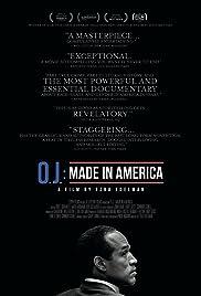 O.J.: Made in America(2016) Poster - Movie Forum, Cast, Reviews