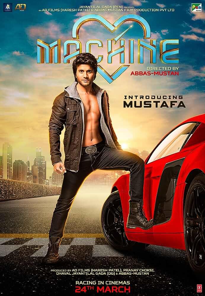 Machine 2017 Full Hindi Movie Download 720p HDRip full movie watch online freee download at movies365.org