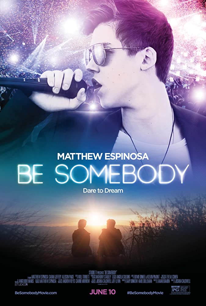 Image result for be somebody movie poster