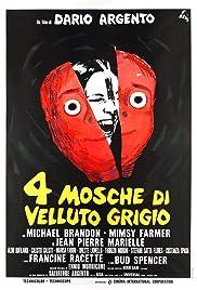 4 mosche di velluto grigio(1971) Poster - Movie Forum, Cast, Reviews