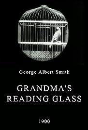 Grandma's Reading Glass Poster