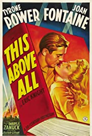 This Above All(1942) Poster - Movie Forum, Cast, Reviews