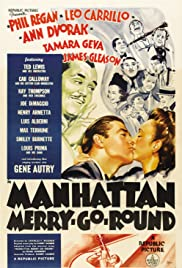 Manhattan Merry-Go-Round Poster