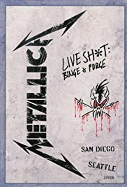 Metallica: Live Shit - Binge & Purge, San Diego (1993) Poster - Movie Forum, Cast, Reviews
