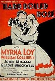 Hardboiled Rose Poster