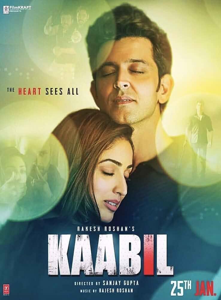 Poster Kaabil 2017 Full Hindi Movie Download HD 720p