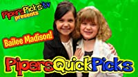 Bailee Madison at Power of Youth 2009 with Piper Reese from Piper's Picks TV!