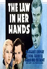 The Law in Her Hands Poster