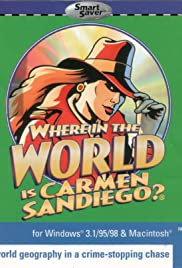 Where in the World Is Carmen Sandiego Poster