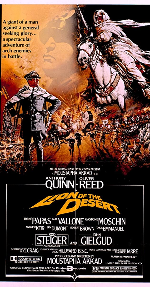 Lion of the Desert (1980) Bluray 720p 1080p