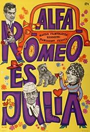 Alfa Romeó és Júlia Poster