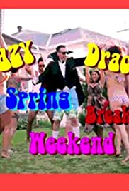 Crazy Dracula Spring Break Weekend Poster