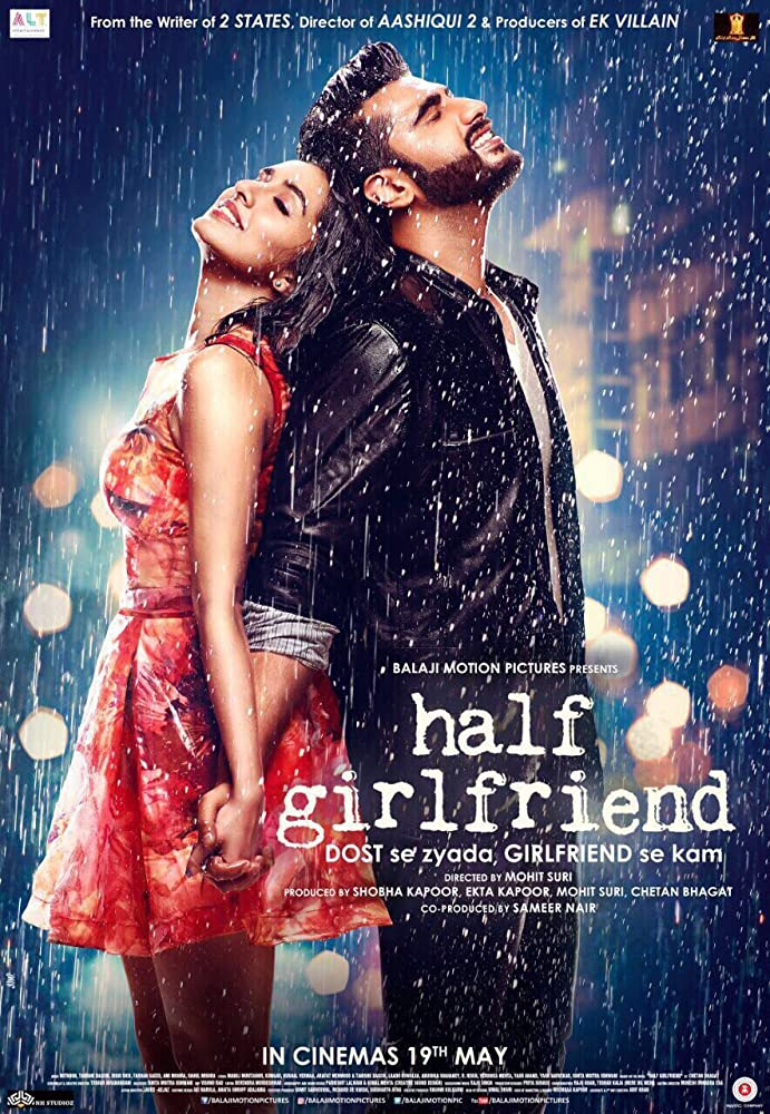 Half Girlfriend 2017 Hindi 720p DTHRip x264 AAC - Hon3y