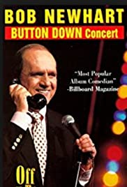 Bob Newhart: Button Down Concert Poster