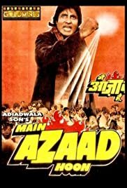 Main Azaad Hoon (1989) Poster - Movie Forum, Cast, Reviews