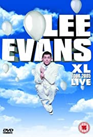 Lee Evans: XL Tour Live 2005 Poster