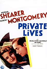 Private Lives (1931) Poster - Movie Forum, Cast, Reviews