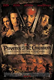 Pirates of the Caribbean: The Curse of the Black Pearl (2003) Poster - Movie Forum, Cast, Reviews