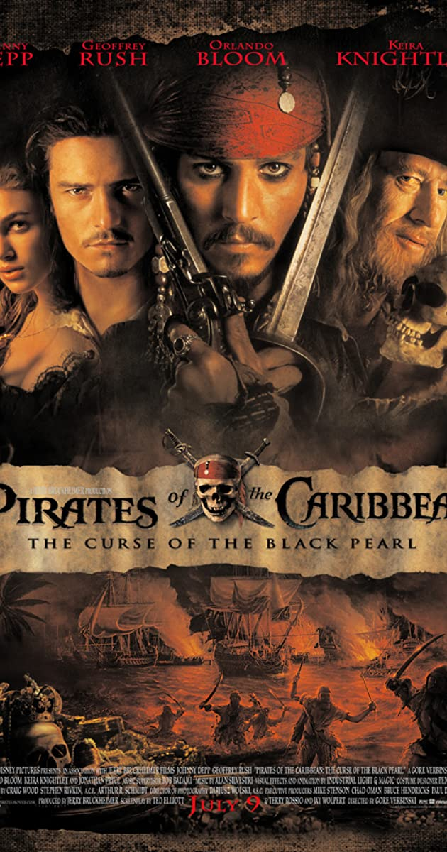 Pirates of the Caribbean: The Curse of the Black Pearl 2003 BRRip