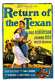 Return of the Texan Poster