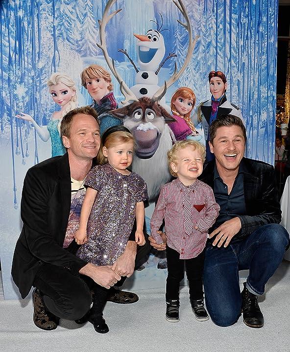 Neil Patrick Harris and David Burtka at Frozen (2013)