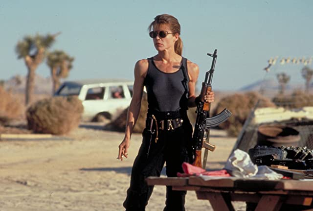 Linda Hamilton in Terminator 2: Judgment Day (1991)