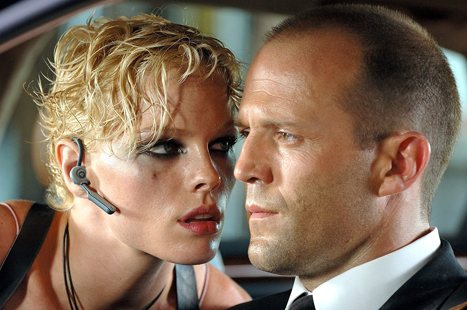 Jason Statham and Kate Nauta in Transporter 2 (2005)