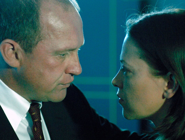 Peter Firth and Nicola Walker in MI-5 (2002)