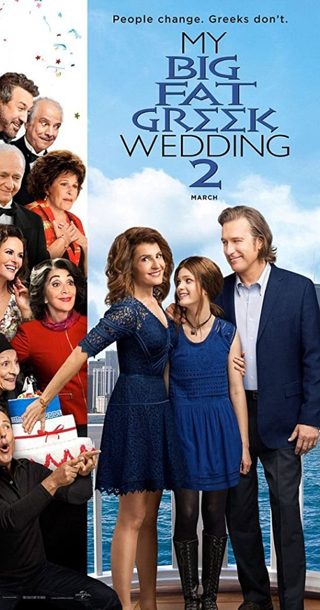 Mano didelės storos graikiškos vestuvės 2 / My Big Fat Greek Wedding 2 (2016) Online