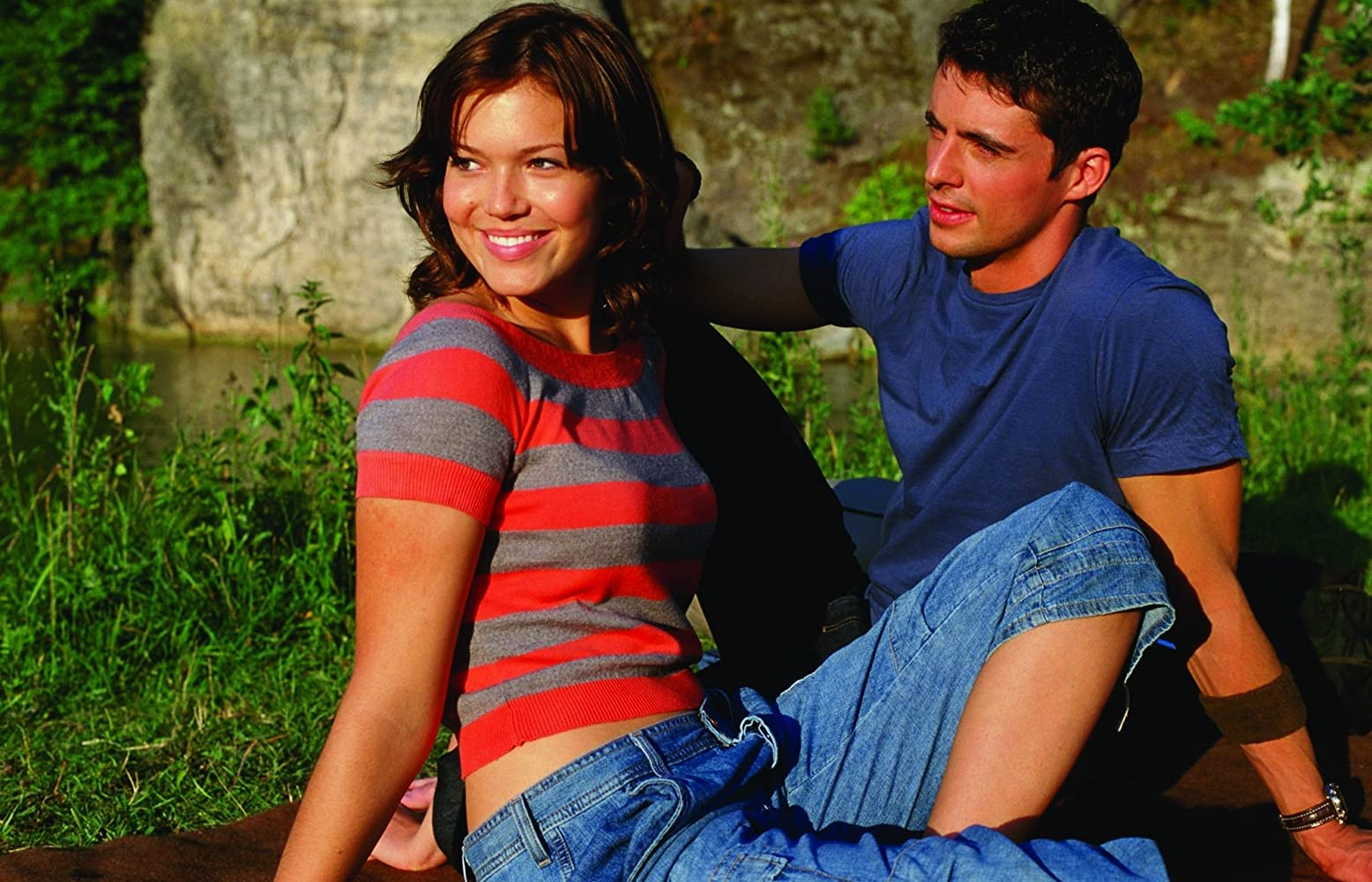 Matthew Goode and Mandy Moore in Chasing Liberty (2004)