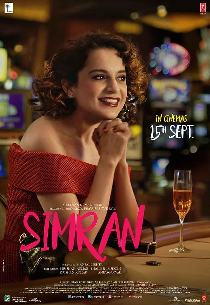 Simran (2017) Full Hindi Movie Pre-DVDRip 700Mb x264