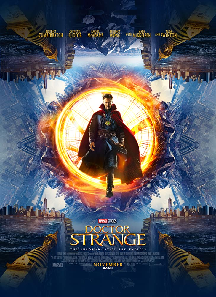 Doctor Strange 2016 1080p HEVC BluRay x265 550MB
