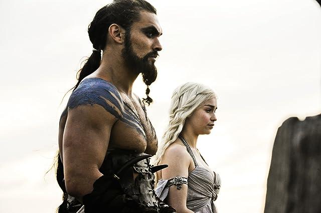 Jason Momoa and Emilia Clarke in Game of Thrones (2011)