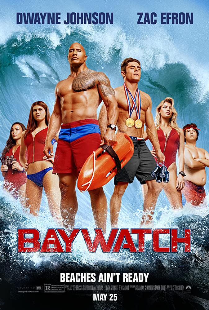 Baywatch (2017) BluRay 720p 900MB 5.1 Dual Audio ( Hindi – English) ESubs MKV