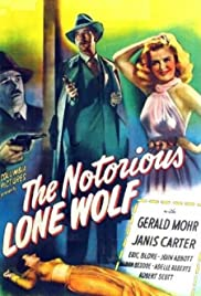 The Notorious Lone Wolf (1946) Poster - Movie Forum, Cast, Reviews