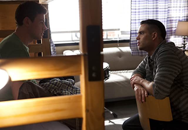 Mark Salling and Cory Monteith in Glee (2009)