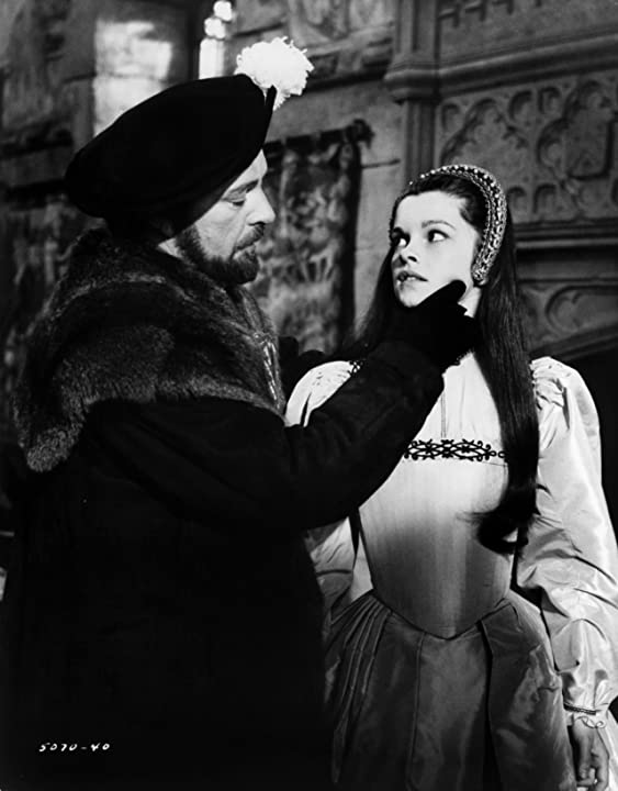 Richard Burton and Geneviève Bujold in Anne of the Thousand Days (1969)