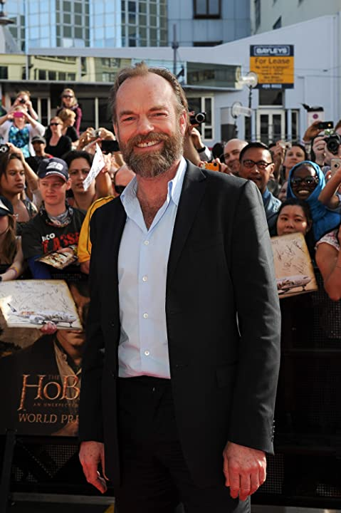 Hugo Weaving at The Hobbit: An Unexpected Journey (2012)