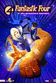 Fantastic Four: World's Greatest Heroes Poster - TV Show Forum, Cast, Reviews