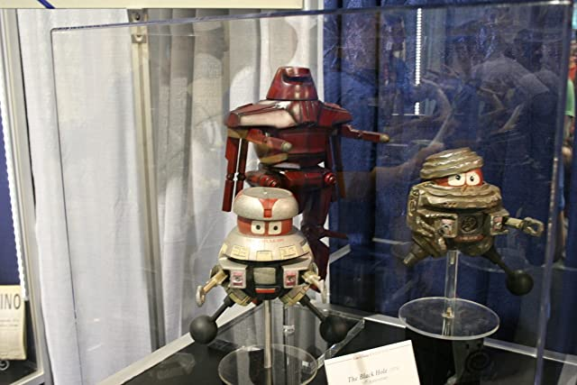 Original Disney prop displayed at D23 booth