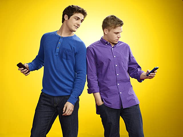 Brett Davern and Beau Mirchoff in Awkward. (2011)