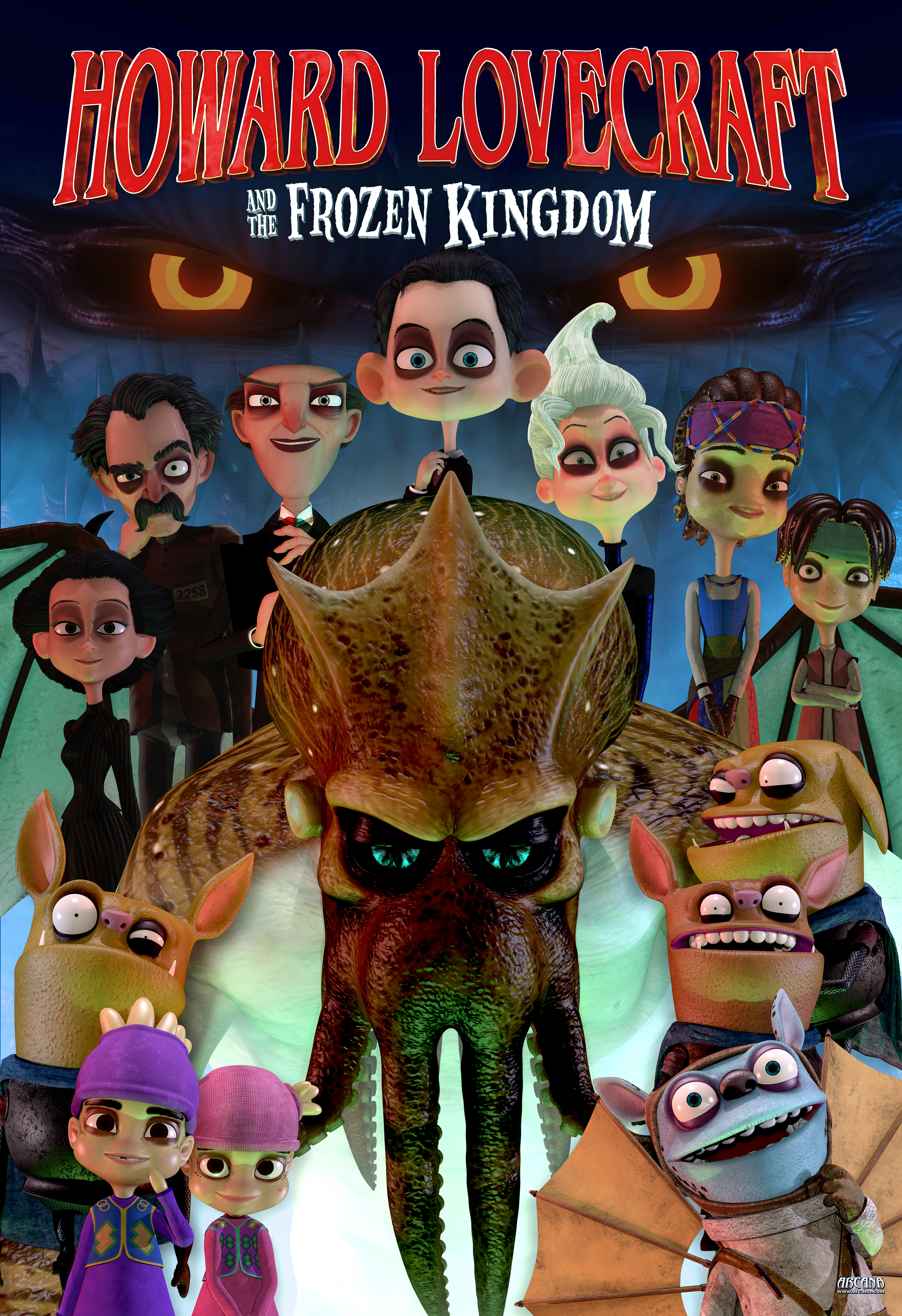 image Howard Lovecraft and the Frozen Kingdom Watch Full Movie Free Online