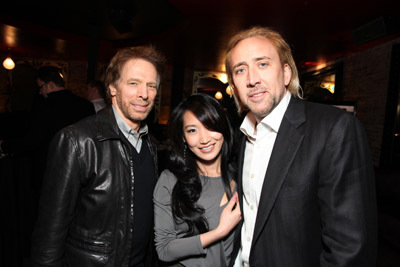 Nicolas Cage, Jerry Bruckheimer, and Alice Kim Cage